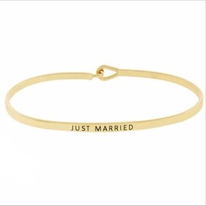 JUST MARRIED- Bracelet